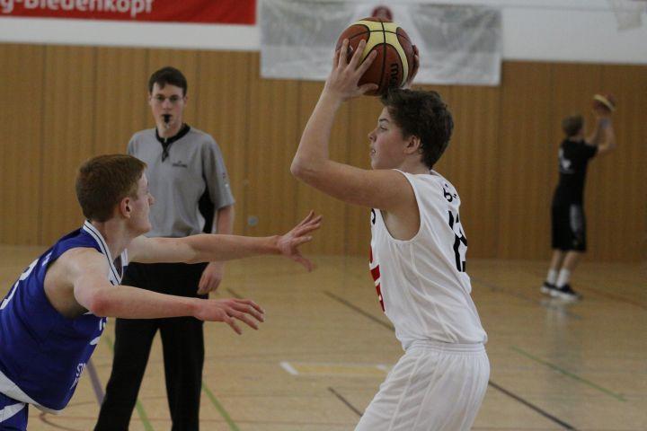 U16 at BC Marburg, 21. Februar 2015