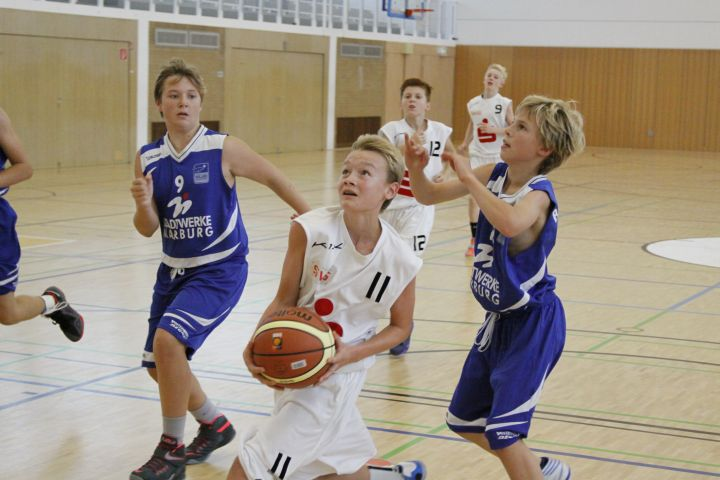 U14 at BC Marburg, 16.09.2015