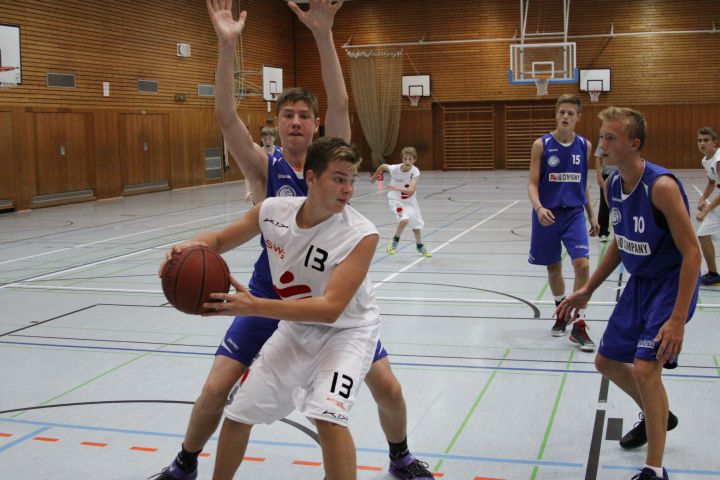 U16 vs Homberger TG, 19.09.2015
