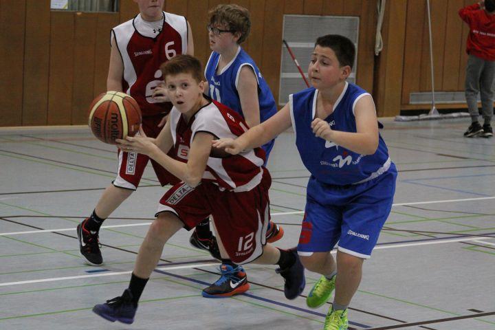 U14 vs BC Marburg, 05.12.2015