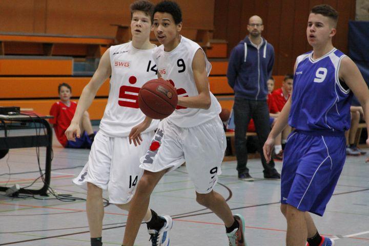 U16 vs BC Wiesbaden, 12. Dezember 2015