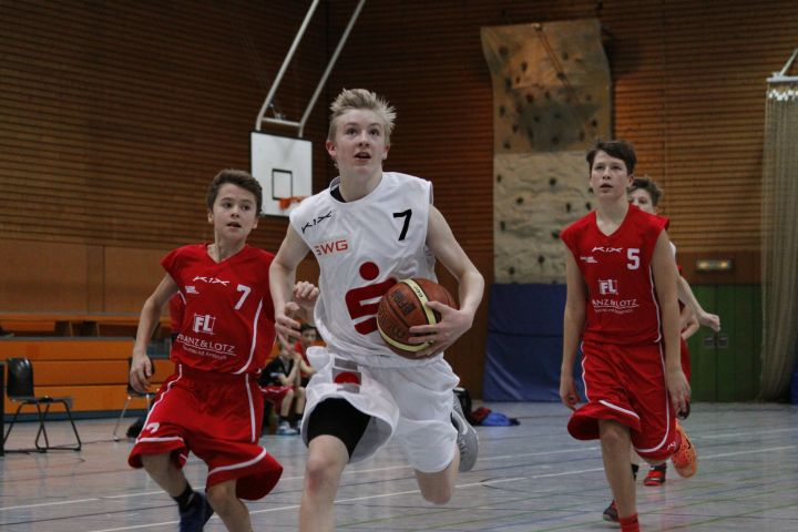 U14 vs TV Lich, 16. Januar  2016