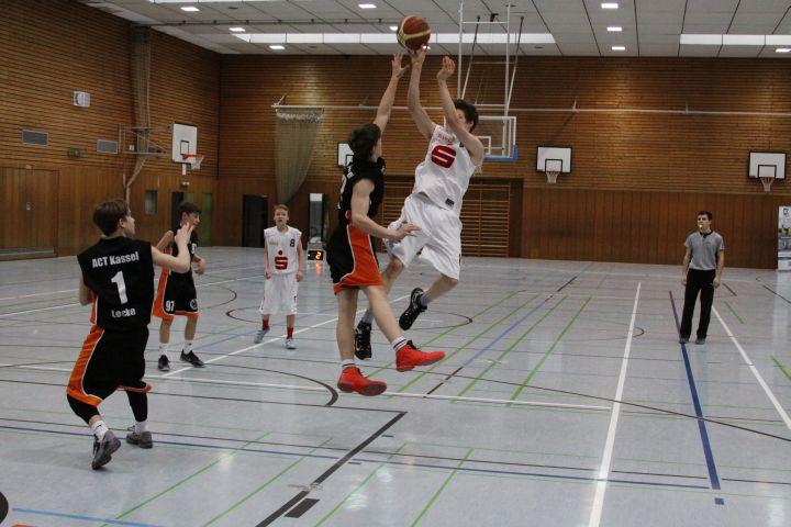 U16 vs ACT Kassel, 23. Januar 2016