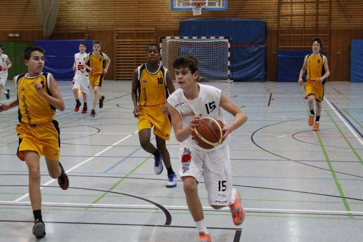 U14 vs SG Weiterstadt, 30. Januar 2016