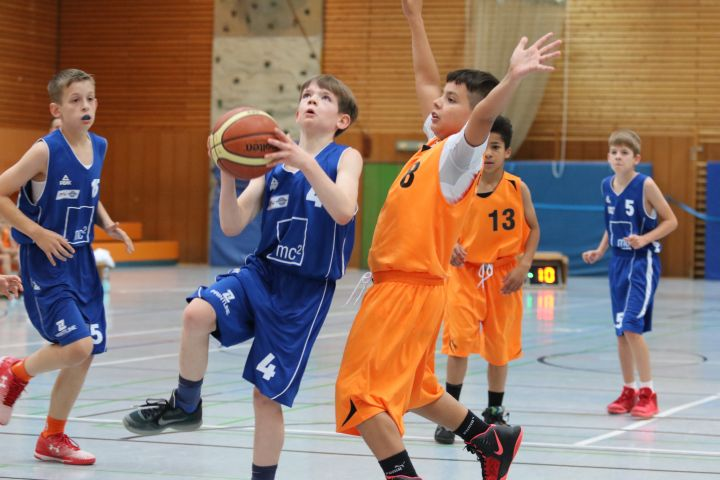 U12 vs BC Wiesbaden, 06. November 2016