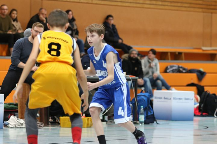 U14 vs SG Weiterstadt, 06. November 2016