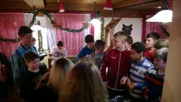 Weihnachtsfeier U14, 07.12.2013
