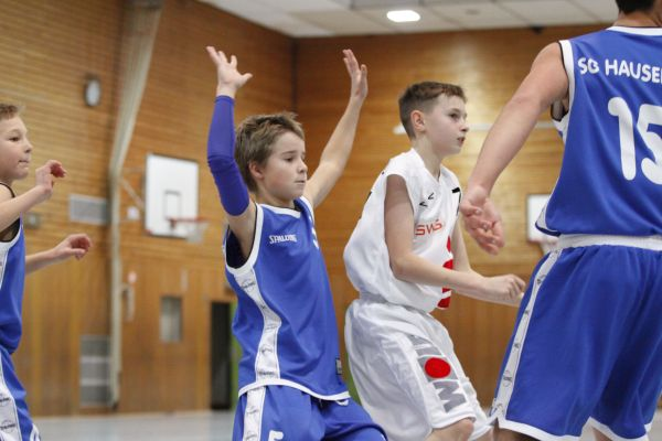 U14 vs SG Hausen/Taunus, 30. November 2014