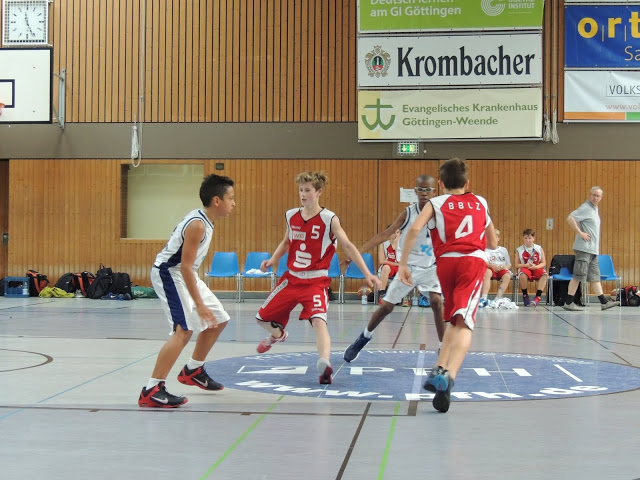 U14 Cup in Göttingen, 07. und 8. September 2013