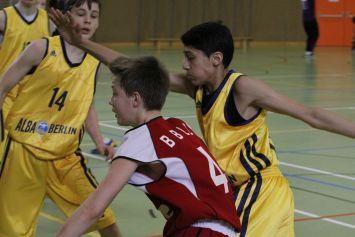 Wien, 29.03.13, U14 vs Alba Berlin