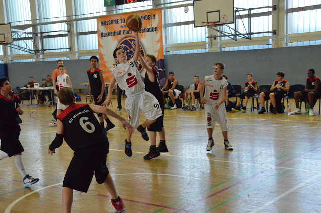 U14 at BC Wiesbaden, 25. November 2012