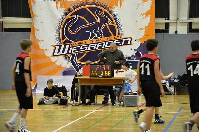 U14 at BC Wiesbaden, 14.01.2012