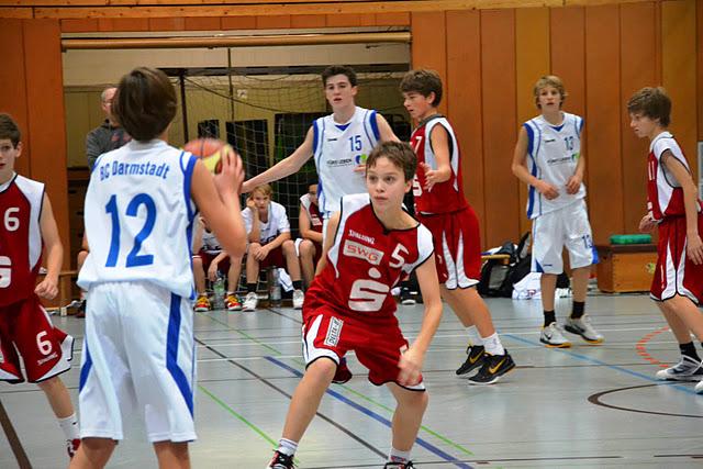 U14 vs BC Darmstadt, 19.11.2011