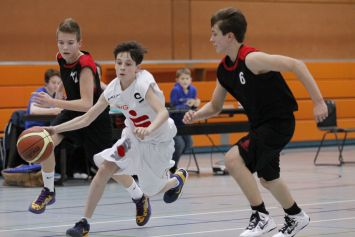 U14 vs BC Wiesbaden, 09. März 2013