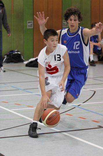 U14 vs TV Langen, 12.11.2011