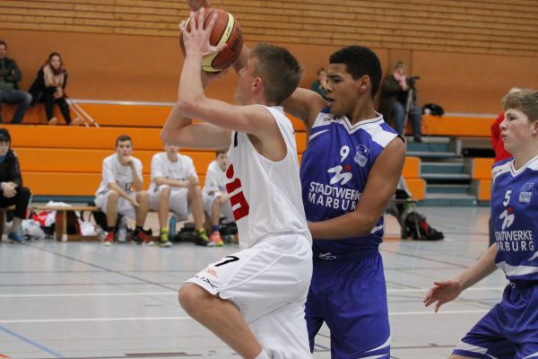 U14 vs BC Marburg, 23. November 2014