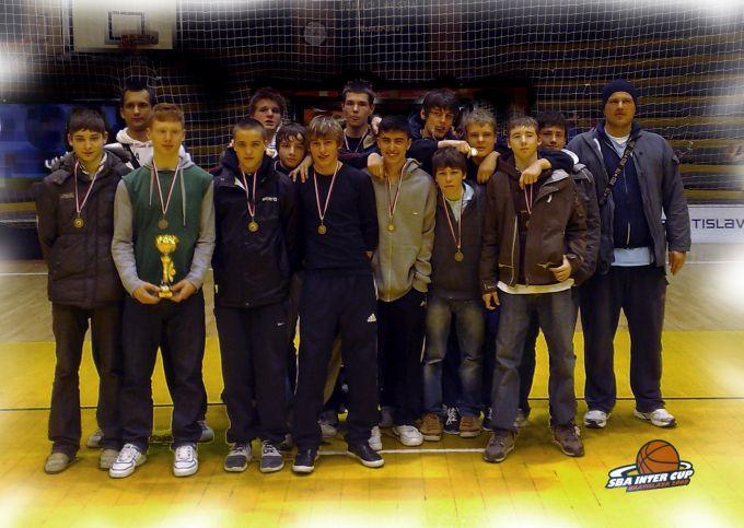 Teamfoto U16 in Bratislawa