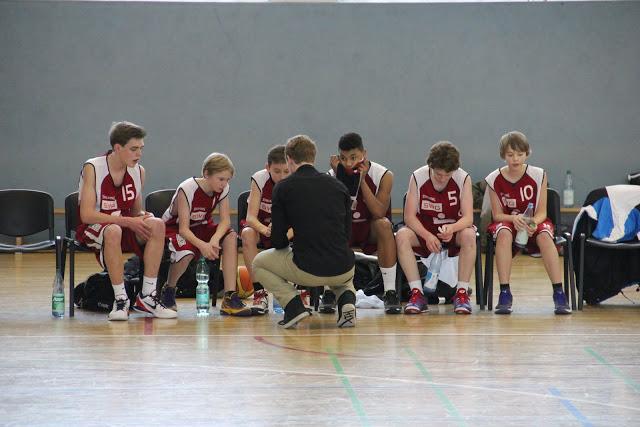 U16 at BC Wiesbaden, 20.01.2013