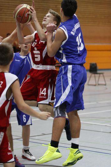 U16 vs MTV Kronberg, 10. November 2012