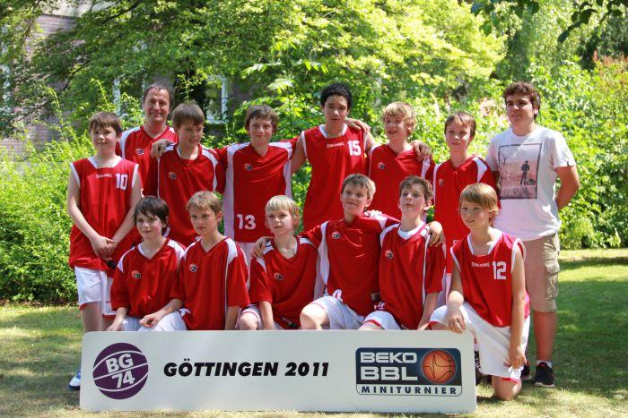 VfB U12 in Göttingen, Beko BBL Miniturnier